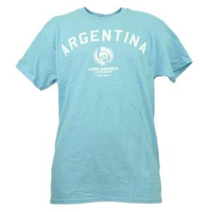 Argentina Copa America Centenario USA 2016 Tshirt Tee Soccer Futbol Mens Adult