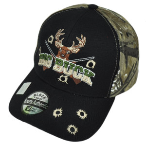Big Buck Camouflage Camo Two Tone  Hunter Hunt Hunting Camping Hat Cap