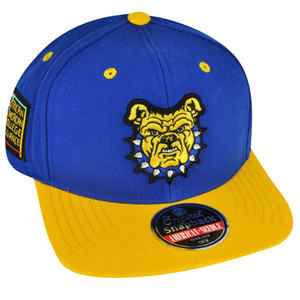 NCAA AACA American Needle North Carolina A&T Aggies Snapback Blockhead Hat Cap
