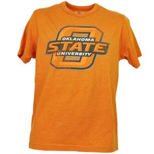 NCAA Oklahoma State Cowboys Orange Short Sleeve Mens Adult Short Sleeve Sports