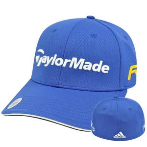 Adidas Ashworth Golf Hat Cap Penta Taylor Made R11 Blue Stretch Flex Fit S/M