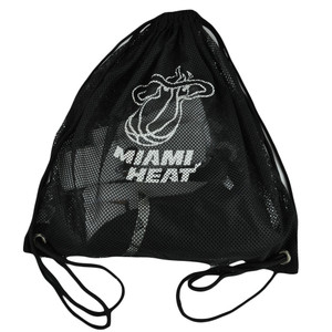 Miami Heat Set Combo Back Pack Shirt Headband Wristband Hat Cap Adidas XLarge