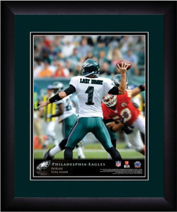 NFL Personalized Quarterback Action Print Black Frame Custom Philadelphia Eagles