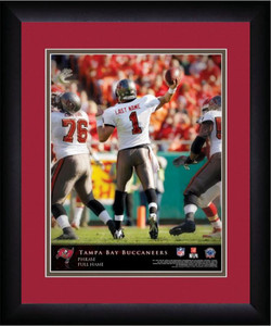 NFL Personalized Quarterback Action Print Frame Customized Tampa Bay Buccaneers