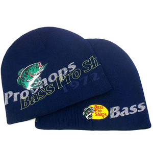 HAT BEANIE SKULLY KNIT BASS PRO SHOPS HUNTING FISHING CAMPING OUTDOOR NAVY BLUE