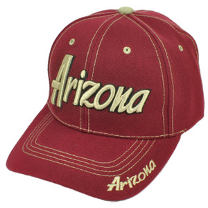 Arizona Grand Canyon State Burgundy USA AZ Adjustable Hat Cap Curved Bill US