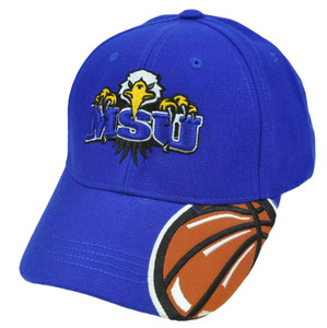 NCAA Morehead State Eagles Top of The World Hat Cap Velcro Adjustable Construct