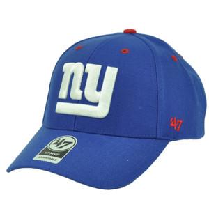 New York Giants '47 Brand Forty Seven Blue Adjustable Hat Cap Audible Football