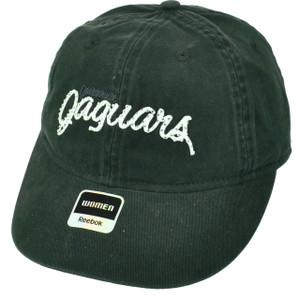 Jacksonville Jaguars Womens Hat Cap Black Rhinestone Gems Polka Dots Under Visor