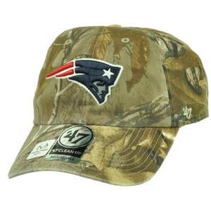 New England Patriots '47 Brand Forty Seven Realtree Clean Up Camouflage Hat Cap