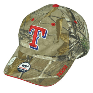 Texans Rangers Realtree Camouflage Camo Hat Cap Mens Adjustable Baseball TX