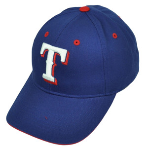 Texas Rangers Hat Cap Blue Baseball Curved Bill Adjustable Fan Favorite Sports
