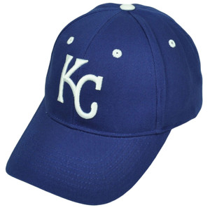 Kansas City Royals Blue Hat Cap Fan Favorite Adjustable Curved Bill Baseball