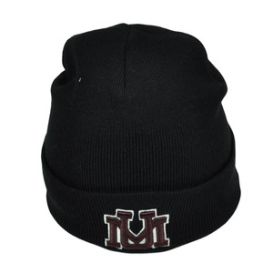 NCAA Montana Grizzlies Dusy Cuffed Thick Beanie Knit Skully Toque Hat Black