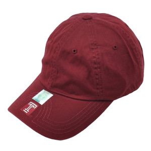 NCAA Temple Owls Slouch Flambam Hat Burgundy Relaxed American Needle Adjustable