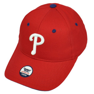 Philadelphia Phillies Youth Fan Favorite Red Hat Cap Baseball Adjustable Game