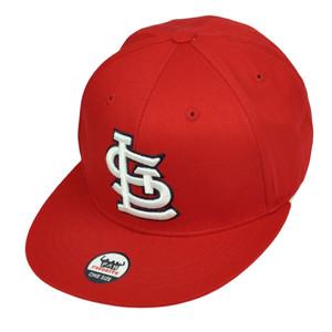 St Louis Cardinals Red Snapback Flat Bill Hat Cap Baseball Fan Favorite Sport