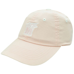 NCAA Maryland Terrapins Womens Sun Buckle Pink Garment Wash Slouch Relax Hat Cap