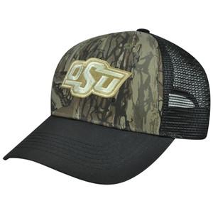 NCAA Oklahoma State University OSU Cowboys Camo Camouflage Mesh Snapback
