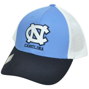 NCAA Mesh Twill Snapback Two Tone Adjustable Hat Cap North Carolina Tar Heels NC