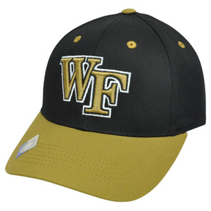 NCAA Wake Forest Demon Deacons Twill Cotton Two Tone Snapback Adjustable Hat Cap