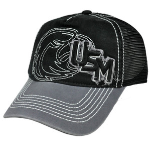 NCAA Southern Mississippi Golden Eagles Top of The World Mesh Hat Cap Distressed