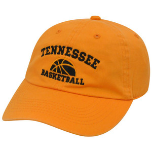 NCAA Tennessee Volunteers Basketball Garment Wash Sun Buckle Curved Bill Hat Cap