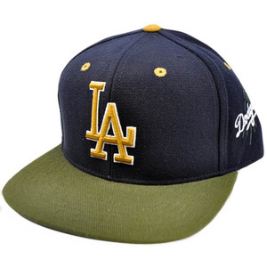 MLB American Needle Blockhead Earthtone Cap Hat Snapback Los Angeles LA Dodgers