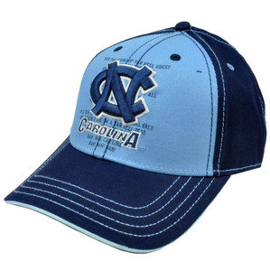 NCAA Cap Hat Constructed North Carolina Tar Heels Fight Song Chino Adjustable