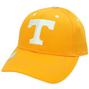 NCAA Tennessee Volunteers Vols Constructed Cap Adjustable Velcro Hat Plain Logo