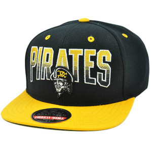MLB American Needle Retro Snapback Hat Cap Hayes Flat Bill Pittsburgh Pirates