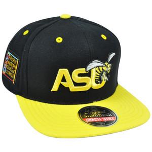 NCAA AACA Alabama State Hornets ASU American Needle Traxside Snapback Hat Cap