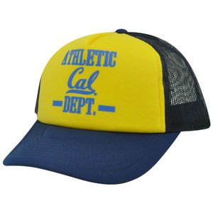 NCAA California Golden Bears Cal Foam Mesh Snapback Trucker Curved Bill Hat Cap