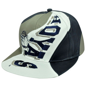 NCAA GEORGETOWN HOYAS OLD SCHOOL SNAPBACK FLAT BILL HAT