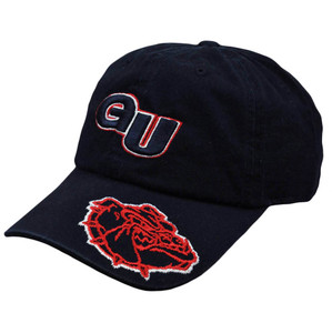 NCAA Gonzaga Bulldogs Tommy D Garment Wash Adjustable Sun Buckle Hat Cap Slouch