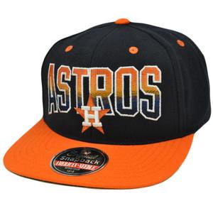 MLB American Needle Retro Snapback Cap Hat Hayes Flat Bill Wool Houston Astros