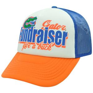 NCAA Florida Gators Foam Trucker Mesh Snapback Curved Bill Constructed Hat Cap