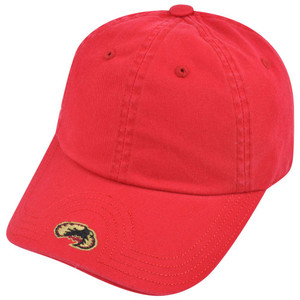 NCAA American Needle Denver Pioneers Flambam Blank Velcro Relaxed Red Hat Cap