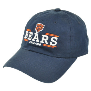 NFL Chicago Bears Aerial Garment Wash Slouched Fit Sun Buckle Adjustable Hat Cap