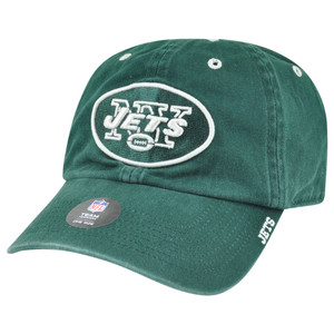 '47 Brand NFL New York Jets AFC Garment Washed Adjustable Snap Buckle Hat Cap