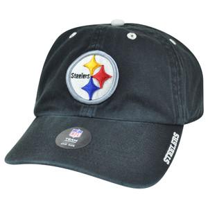 '47 Brand NFL Pittburgh Steelers Garment Wash Adjustable Snap Buckle Hat Cap