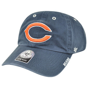 '47 Brand NFL Chicago Bears Ice Relaxed Adjustable Snap Buckle Authentic Hat Cap