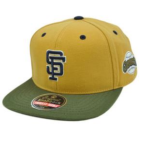 MLB San Francisco Giants American Needle Blockhead Earthtone Cap Hat Snapback