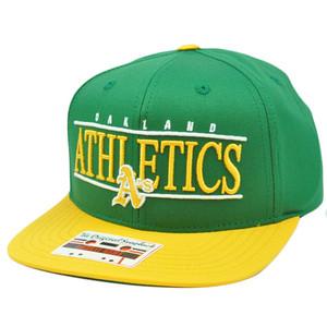 MLB American Needle Nineties Twill Oakland Athletics Cap Hat Snapback Flat Bill