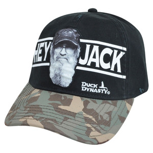 Hey Jack Duck Dynasty Clip Buckle Camouflage Camo A&E Tv Show Series Hat Cap