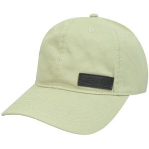 Levis Famous Denim Jeans Faux Leather Logo Garment Wash Sun Buckle Beige Hat Cap