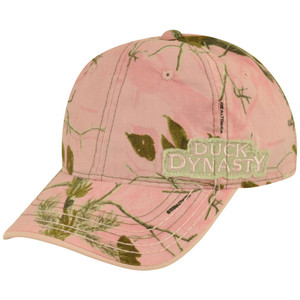 Duck Dynasty Reality TV Show Adjustable Velcro Pink Camouflage A&E Women Hat Cap
