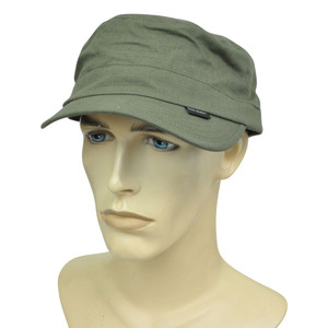 Brand Peter Grimm Cadet Medium Fitted Military Style Castro Olive Hat Cap Relax