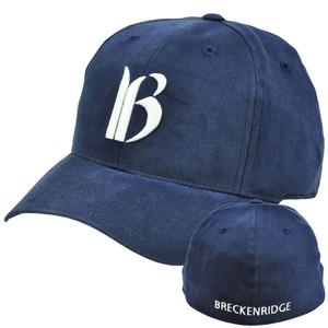Breckenridge Mountain Ski Resort Hotel Flex Stretch Fit Small Medium Hat Cap