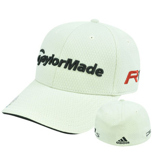 Adidas Ashworth Golf Hat Cap Penta Taylor Made R11 Clay Stretch Flex Fit L/XL